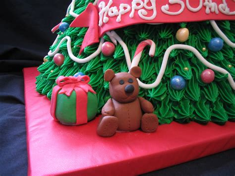 3d christmas tree cake closeup giggy s cakes and sweets flickr
