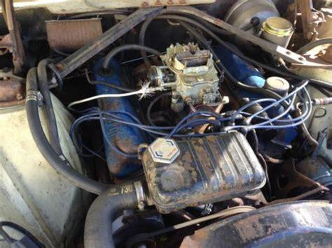 find   ford thunderbird tbird  cu  engine