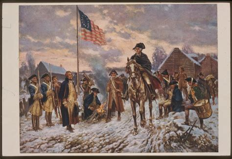 The Harsh Winter At Valley Forge