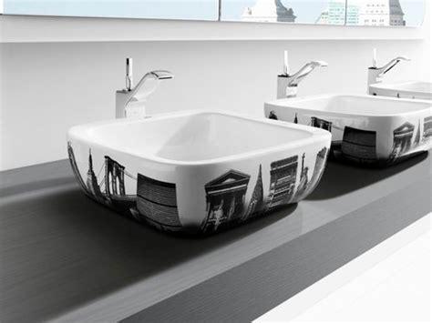 Roca Bathroom Sinks by New Decorative Bathroom Sinks By Roca Digsdigs