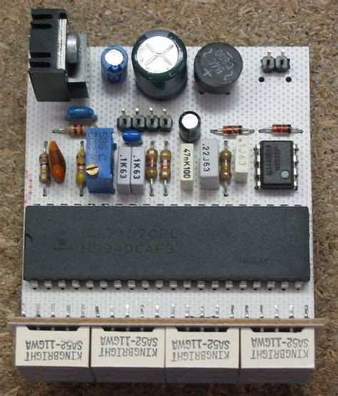 Digital Voltmeter Based Icl Chip Circuit Schematic