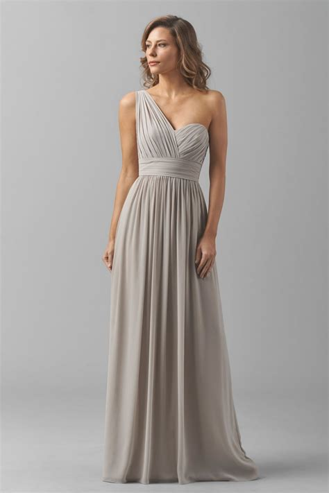 Bridesmaid Dresses by Watters 8546i Bridesmaid Dress Chiffon One Shoulder