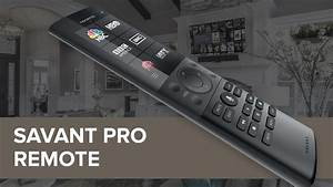 Gy Lighting Savant Pro Remote For Home Automation Youtube