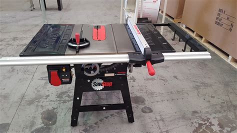 sawstop table saw for sale showroom demonstrator used machine sale i wood like i