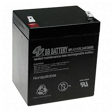 b batterie bp5 12 t2 b b battery battery products digikey