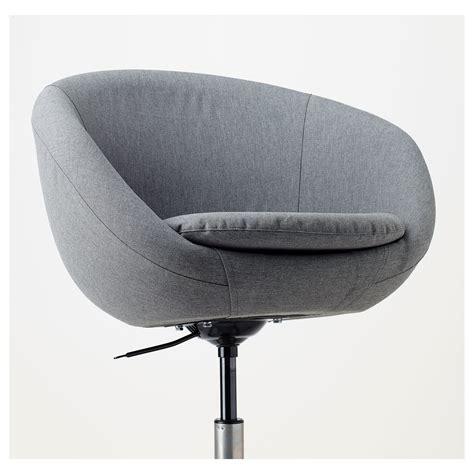 Skruvsta Swivel Chair Cover by Skruvsta Swivel Chair Flackarp Grey Ikea