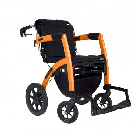 rollz convertible walker and transport wheelchair island