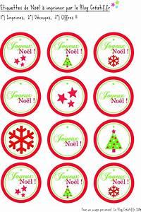 étiquettes De Noel à Imprimer : des tiquettes de no l imprimer le blog cr ~ Melissatoandfro.com Idées de Décoration