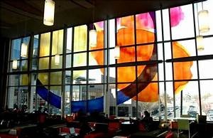 3D Digital Printing Glass, Colored Glass Curtain Wall ...