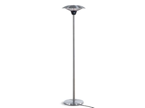 electric patio heater free standing infrared etna