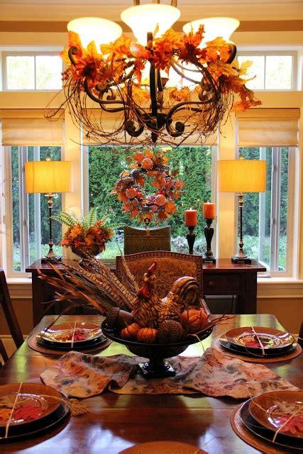 fall centerpieces  festive dinner tables sortrachen