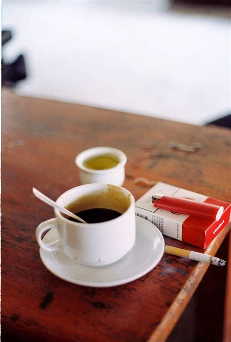 › black coffee good for skin. coffee and cigarettes.....yep....breakfast of champions ...