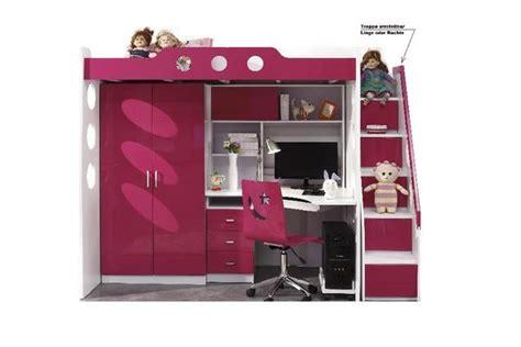 Hochbett Rot Etagenbett Mit Schreibtisch Und Schrank