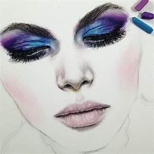 Makeup Face Drawing