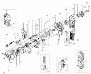 Hackett L4 Lever Hoist Spare Parts