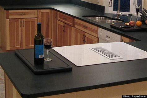 kitchen countertop materials five green kitchen countertops huffpost
