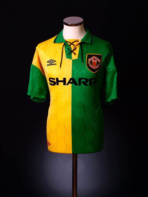 Manchester United Green And Yellow