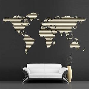 Cool wall decals continents big map by artollo for Awesome wall decal directions