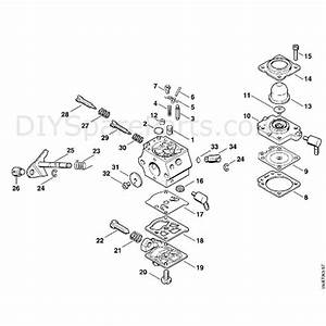 Stihl Fs 74 Brushcutter  Fs74  Parts Diagram  E