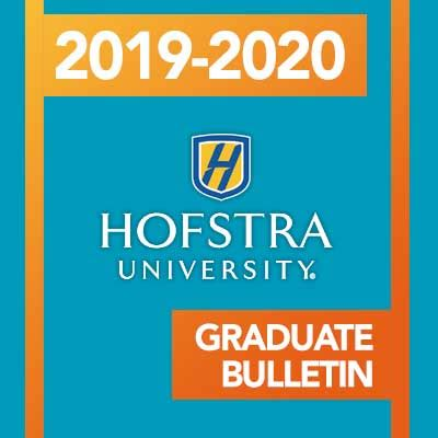 graduate studies bulletin hofstra university acalog acms