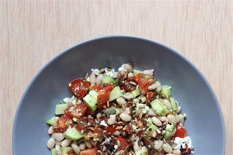 cuisiner les haricots blancs frais quot empedrat quot de haricots blancs pesto et fromage frais