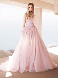 pink wedding dresses wedding decoration ideas With pastel pink wedding dress