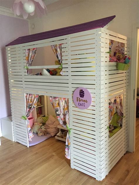 Mydal Bunk Bed Hack by Floras New Bed Ikea Mydal Hack Inspired By Thea