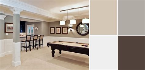 a palette guide to basement paint colors home and decor