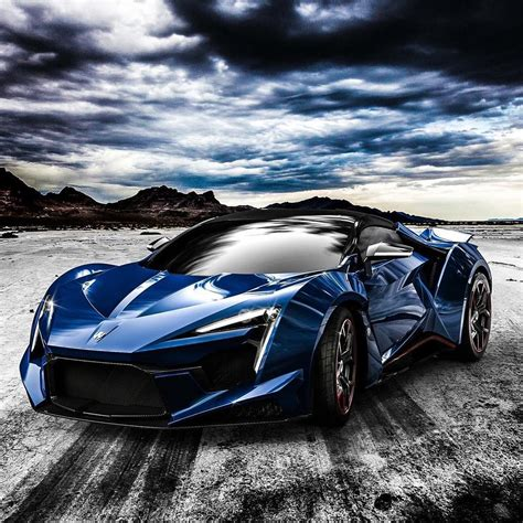 The Fenyr Supersport In Royal Blue