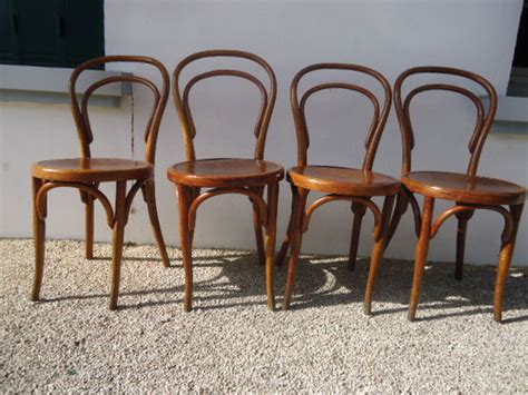 4 chaises bistrot occasion en clasf maison jardin