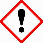 Safety Exclamation Hazard Mark Warning Icon Danger