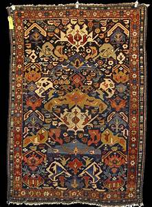 Antique Kuba Rug  So Called Bidjov Design  Antique Bidjov