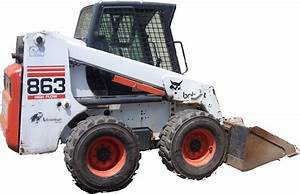 Bobcat 863  863h  863 Turbo  863 Turbo High Flow Loaders