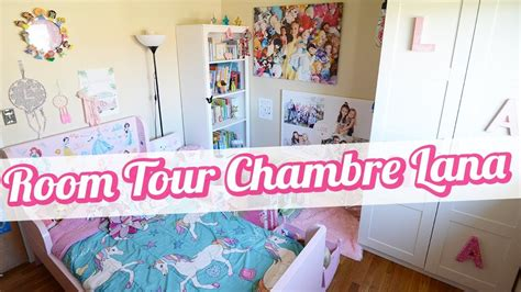 [room Tour] La Nouvelle Chambre De Lana 🎀 Youtube