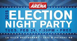 Arena for 45 Election Night Party