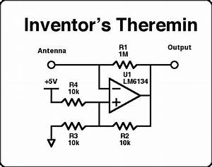 theremin schematic diagram wiring diagram With theremindiagram