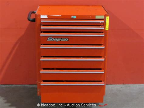 snap on tool cabinet snap on 7 drawer portable tool cabinet shop equipment