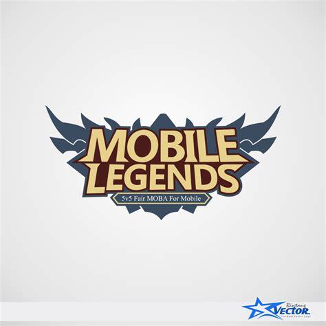 mobile legend logo mobile legends logo vector cdr bintang vector