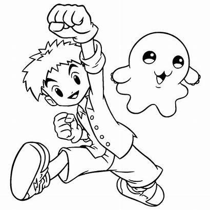 Dibujos Colorear Imprimir Digimon Gratis Pintar