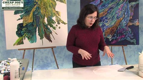 Debbie Arnold How To Create A Poured Acrylic Skin Very