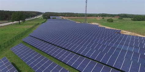hanwha  cells stellt  megawatt solarpark