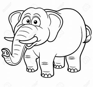 Elefante para Colorir e Imprimir Muito Fácil Colorir e Pintar