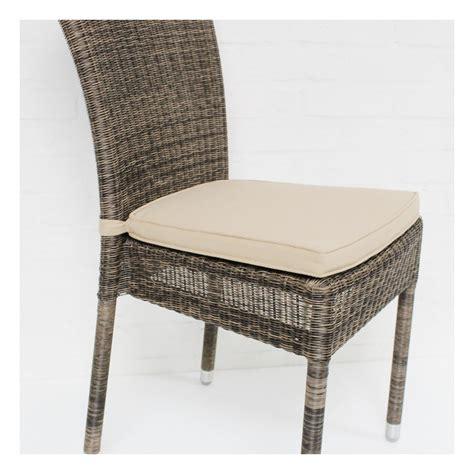 coussins de chaise coussin de chaise isabelle en résine coloris beige