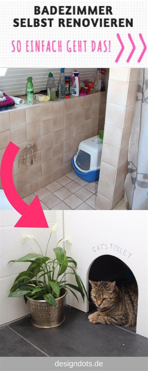 Badezimmermöbel Streichen by Badezimmer Selbst Renovieren Design Dots Und