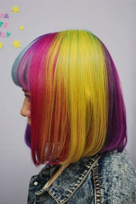 250 Best Multi Colored Hair Images On Pinterest