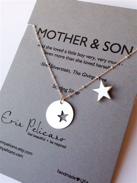 mother son jewelry mother   groom gift mom  son