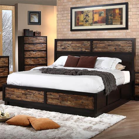 classic makeeda queen  profile bed  footboard