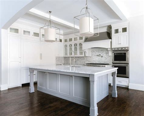 white  silver iridescent tile backsplash transitional