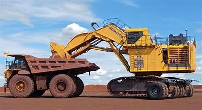 Excavator Truck Dump Sleipner Komatsu Pc4000 Mining