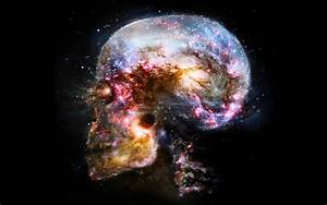 #brain, #space, #universe, #abstract, #skull | Wallpaper ...